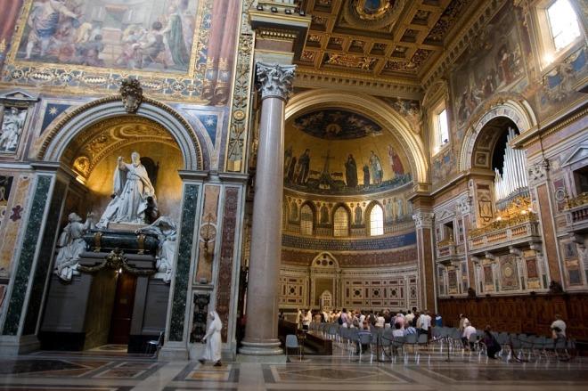 Basílica de San de Letrán, Roma.