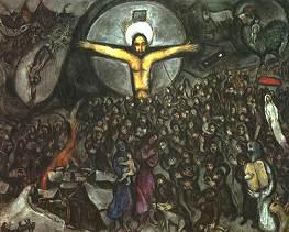 El éxodo, de Marc Chagall