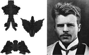 Hermann Rorschach, psiquiatra suizo, 1921.