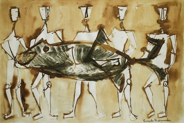 bermudez-figurasconpescado1953ca