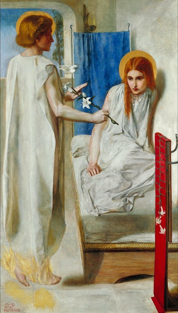 the-annunciation-by-rossetti